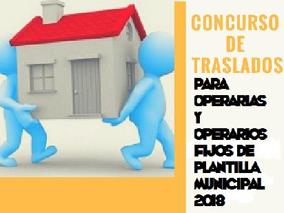 CONCURSO DE TRASLADOS PARA EL PERSONAL OPERARIO