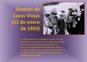 85 ANIVERSARIO DE LOS SUCESOS DE CASAS VIEJAS