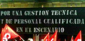 CONTINÚAN LOS PAROS Y CONCENTRACIONES EN EL TEATRO PRINCIPAL