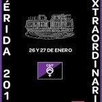 CGT celebrará el VII Congreso Extraordinario en Mérida para preparar la próxima Huelga General del 8 de Marzo