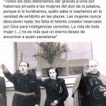PARA RECORDAR SOBRE EL MACHISMO Y EL FASCISMO QUE VIENE