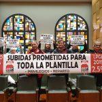 CGT RECLAMA EN LA COMISIÓN DE SERVICIOS PÚBLICOS Y PERSONAL QUE SE CUMPLA CON LA TODA LA PLANTILLA MUNICIPAL.
