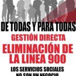 TOTAL OPOSICION DE CGT A QUE LA LINEA 900 CONTINUE EN SERVICIOS SOCIALES