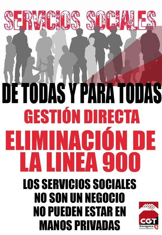 Y TAMBIEN CON ARGUMENTACIONES LEGALES.. CGT CONTRA LA LINEA 900 Y SU PRIVATIZACIÓN.